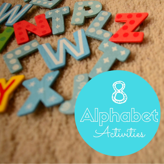 The Practical Mom Blog: 8 Alphabet Activities