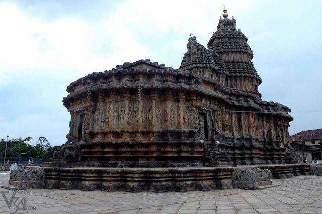 Vidyashankara Temple, Sringeri - Hoysala & Vijayanagara temples
