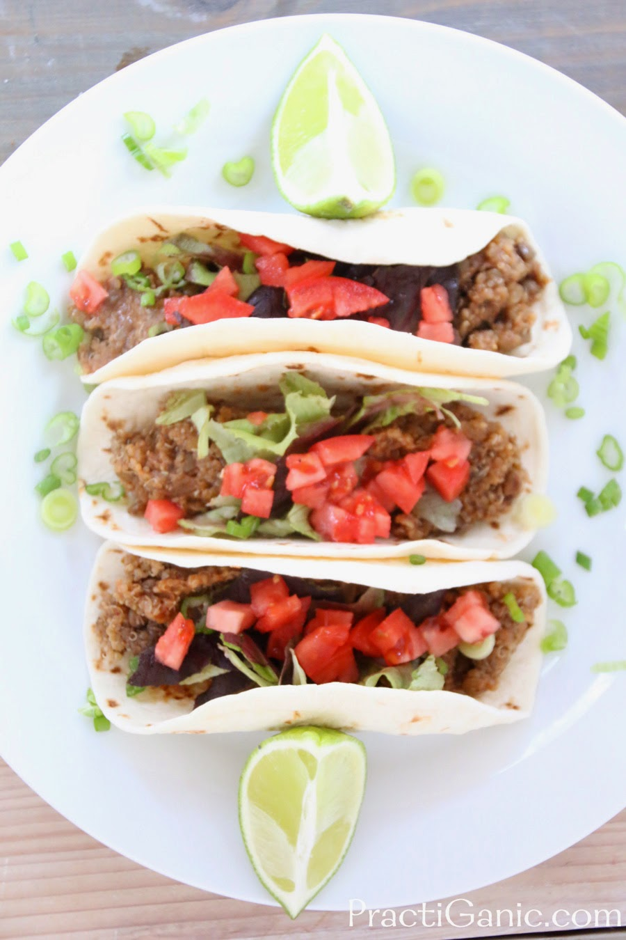 Slow Cooker Lentil and Quinoa Tacos