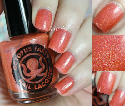 Octopus Party Nail Lacquer Baliwood | Ella Ann Cosmetics Summer 2017