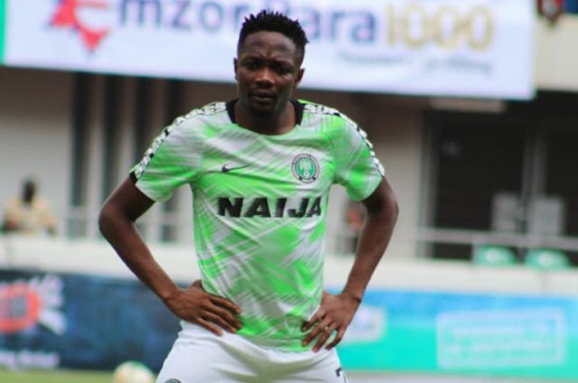 Nigerian International Ahmed Musa