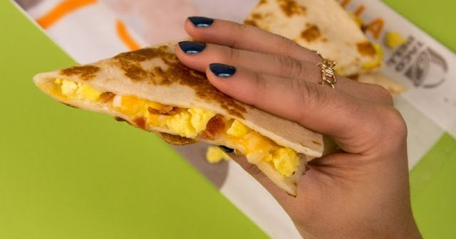 Wing Shack Coupons >> Taco Bell Releases New Breakfast Quesadilla | Brand Eating