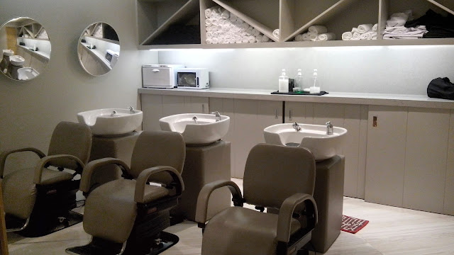 vivere salon shampoo room