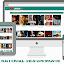 Material Design Movies Blogger Template