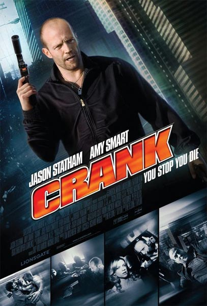 Crank: Veneno en la Sangre (HD 720P y español Latino 2006) poster box code