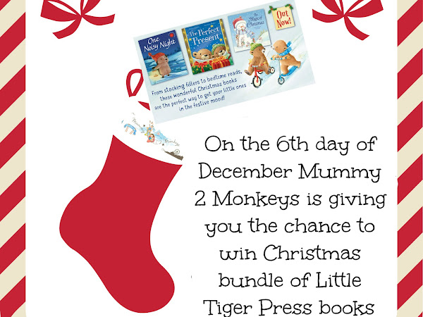 Win Little Tiger Press Christmas Book Bundle