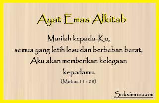 Ayat Emas Alkitab Tentang Kehidupan