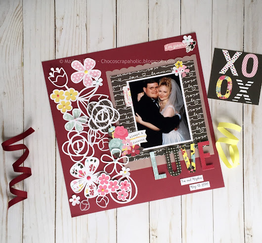 Love - Always & Forever | Scrapbook & Cards Today April Challenge