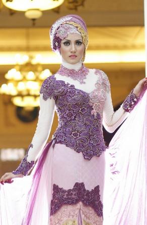 Contoh Busana Muslim untuk Akad Nikah