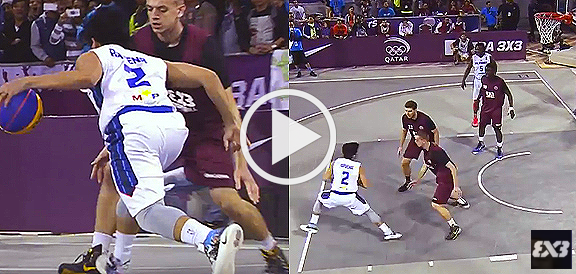 Kiefer Ravena's Dazzling Dribble vs Qatar (VIDEO) FIBA 3x3 All Stars 2015