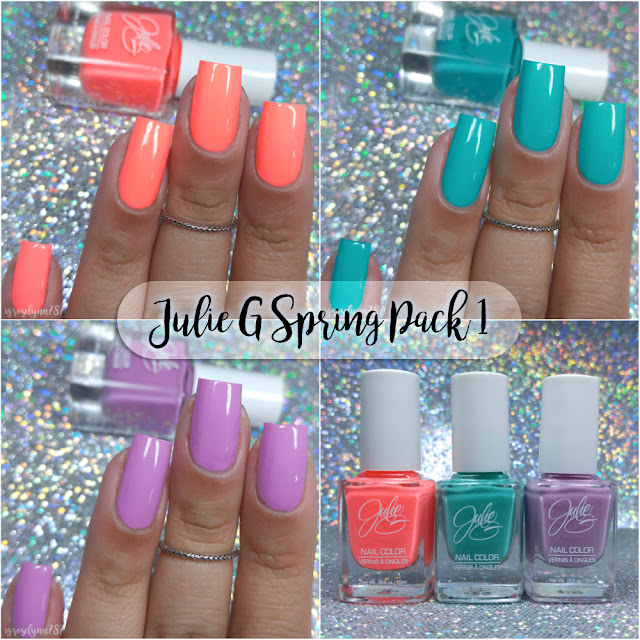 Julie G Nail Polish | Spring Pack 1