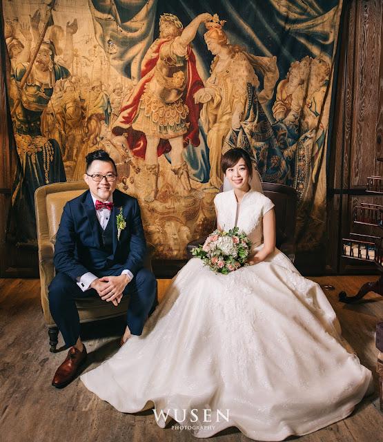 台北婚攝wusen拍攝君品酒店婚宴白紗拍攝