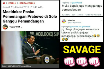 Moeldoko: Posko Prabowo Ganggu Pemandangan, Warganet: Muke Bapak Juga..