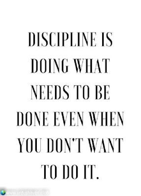 Discipline is  Doing What  Needs To Be  Done Even When  You Don't What  To Do It..!!  #Inspirationalquotes #motivationalquotes  #quotes