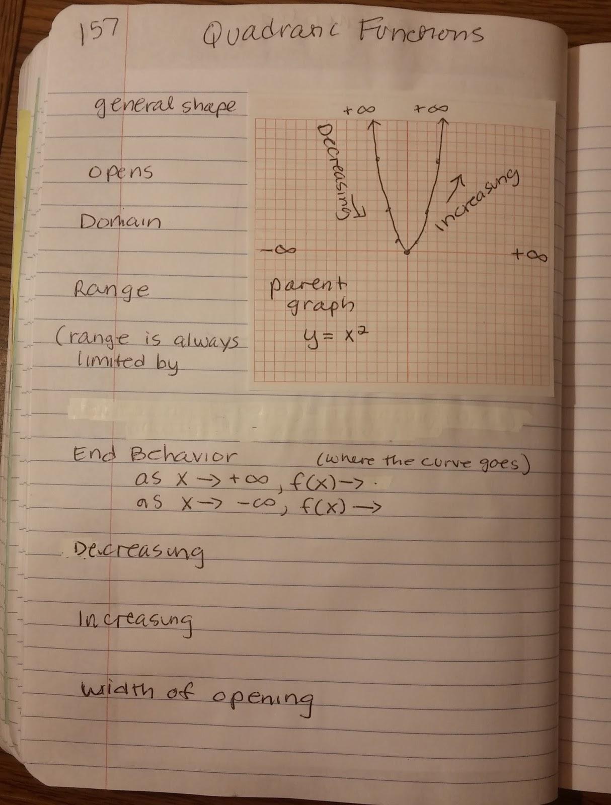Beautiful Math More With Quadratic Characteristics