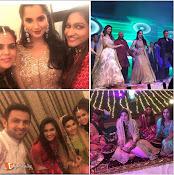 Sania Mirza Sister Sangeet Function Photos-thumbnail-9