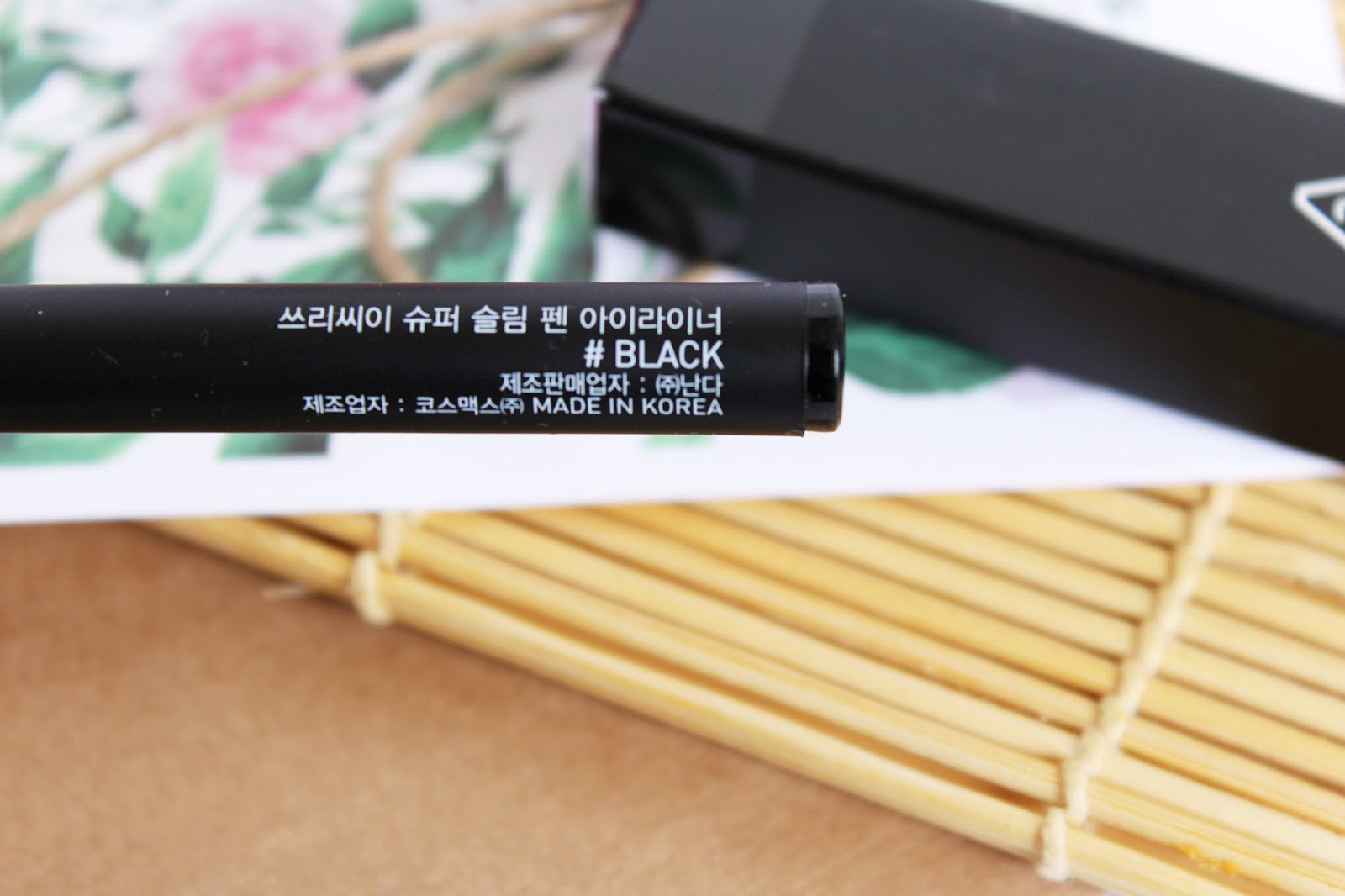 3CE Stylenanda, Super Slim Pen Eye Liner #Black