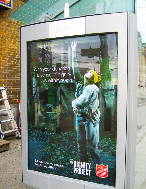 18. The Dignity Project: Realistic Ads Campaign