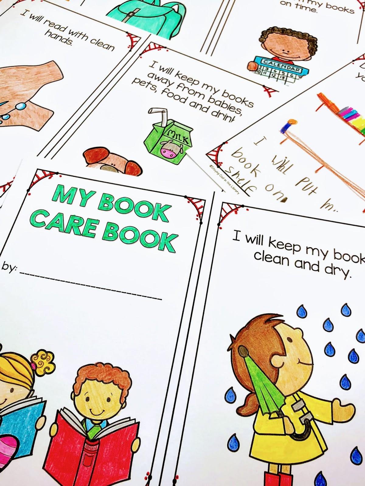 Teaching Book Care Rules