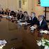 Macri recibió a los representantes de la Mesa de la Cadena de las Carnes