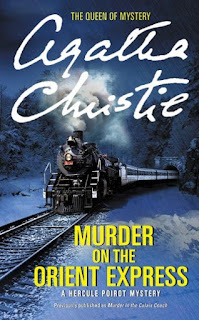 Murder on the Orient Express by Agatha Christie (Book cover)
