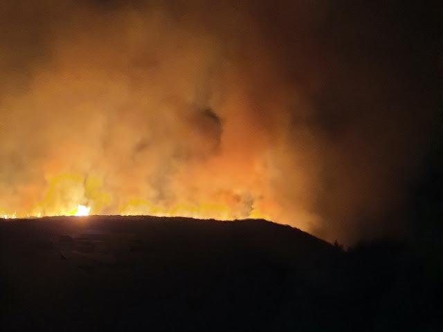 Ξεκίνησε η καταγραφή των ζημιών από την πυρκαγιά στην Ανατολική Μάνης από συνεργεία της Περ. Πελοποννήσου