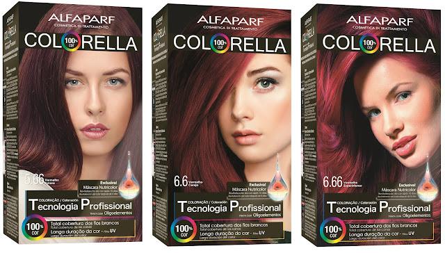 Tinta para cabelos
