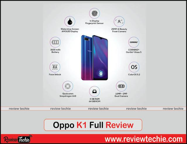 Oppo K1 Full Review
