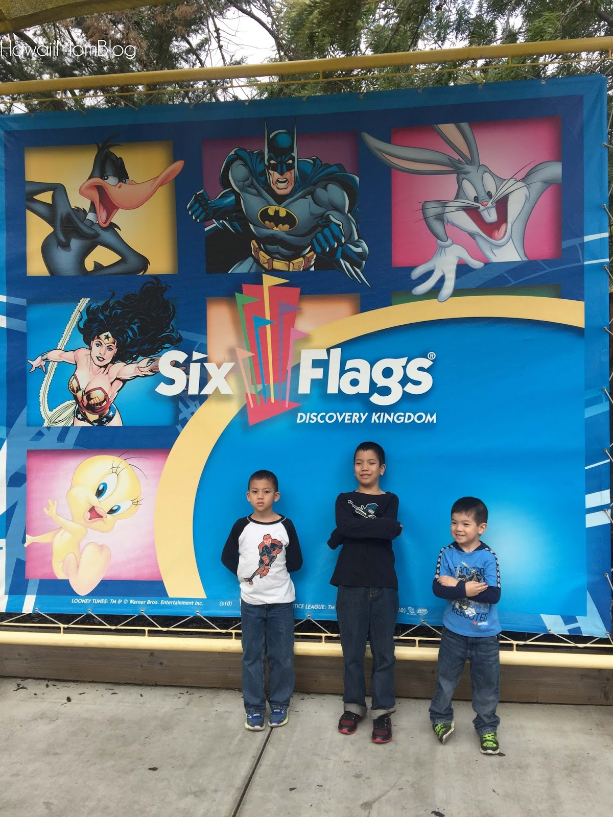 Visit San Francisco Six Flags Discovery Kingdom