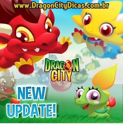 Nova Atualização no Dragon City!