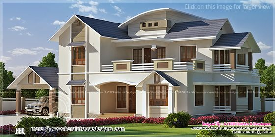 2988 sq-ft house elevation