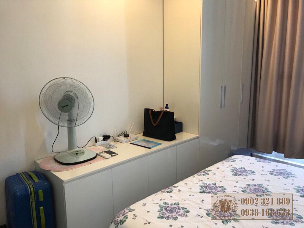 Cho thuệ căn hộ The Prince Residence ngay cầu Nam Kỳ Khởi Nghĩa - phòng ngủ chính