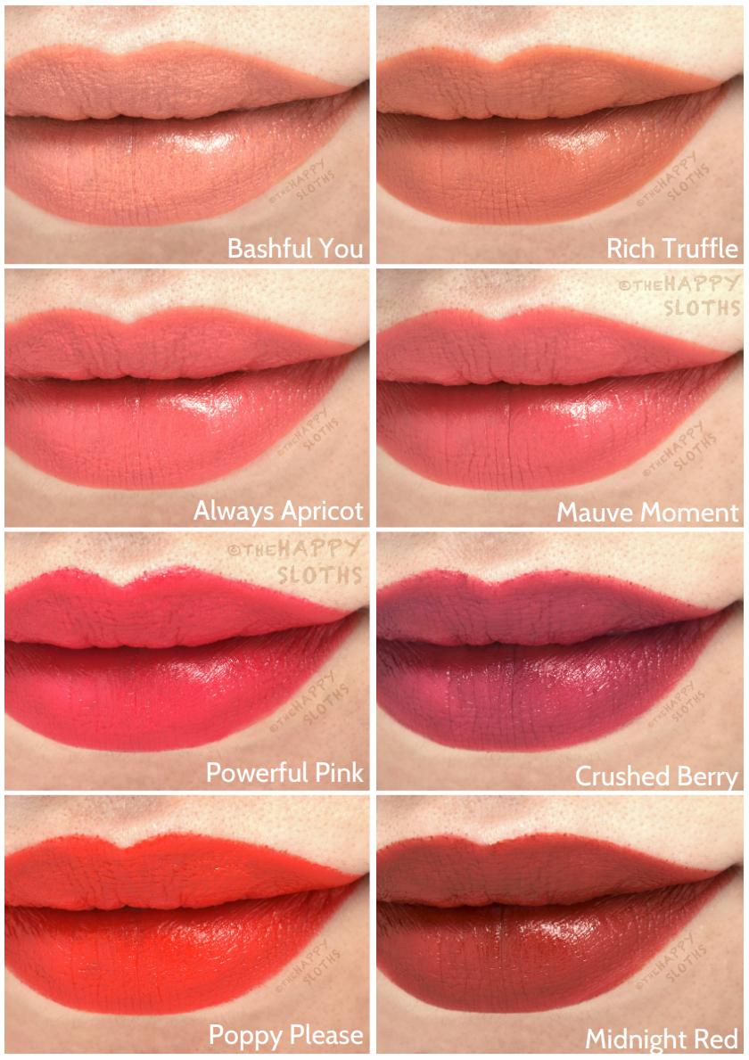 Gel Semi-Matte Lipsticks: Review And