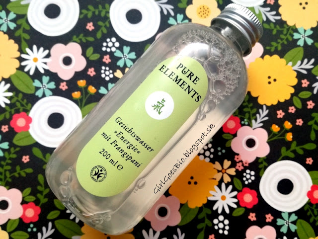 Pure Elements Chi bio cistiaca pletova voda s frangipani a hamamelis