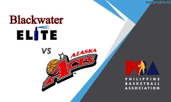PBA: Blackwater Elite vs. Alaska Aces