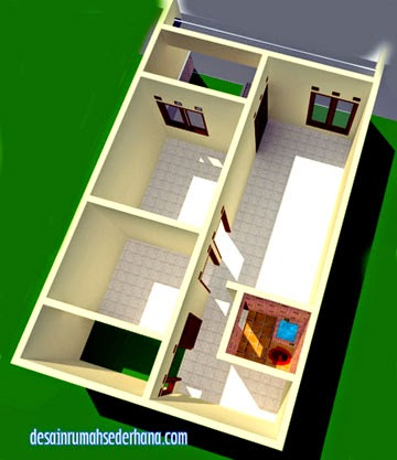 desain rumah sederhana minimalis untuk luas tanah 60 m2
