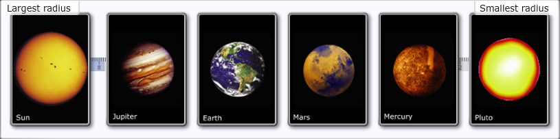 labeled planets biggest to smallest - photo #20