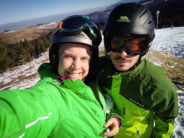 Snowboarding la Paltinis