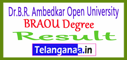 Dr.B.R. Ambedkar Open University BRAOU Degree Exam Results