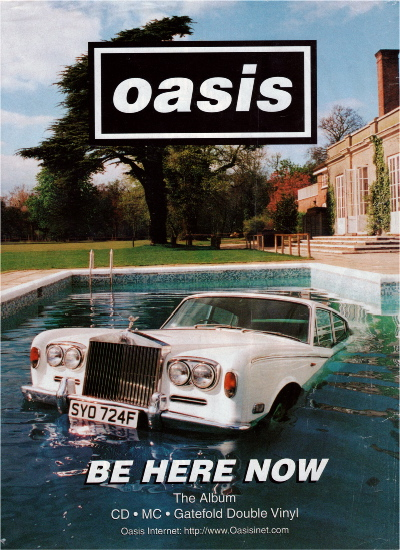 Media A2 Music Coursework: Print work- Album covers and ... Oasis Band Album Cover