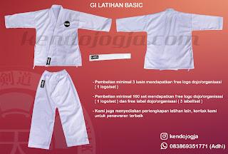 jual baju latihan beladiri aikido karate murah berkualitas