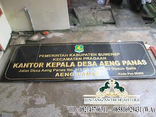 papan nama daerah