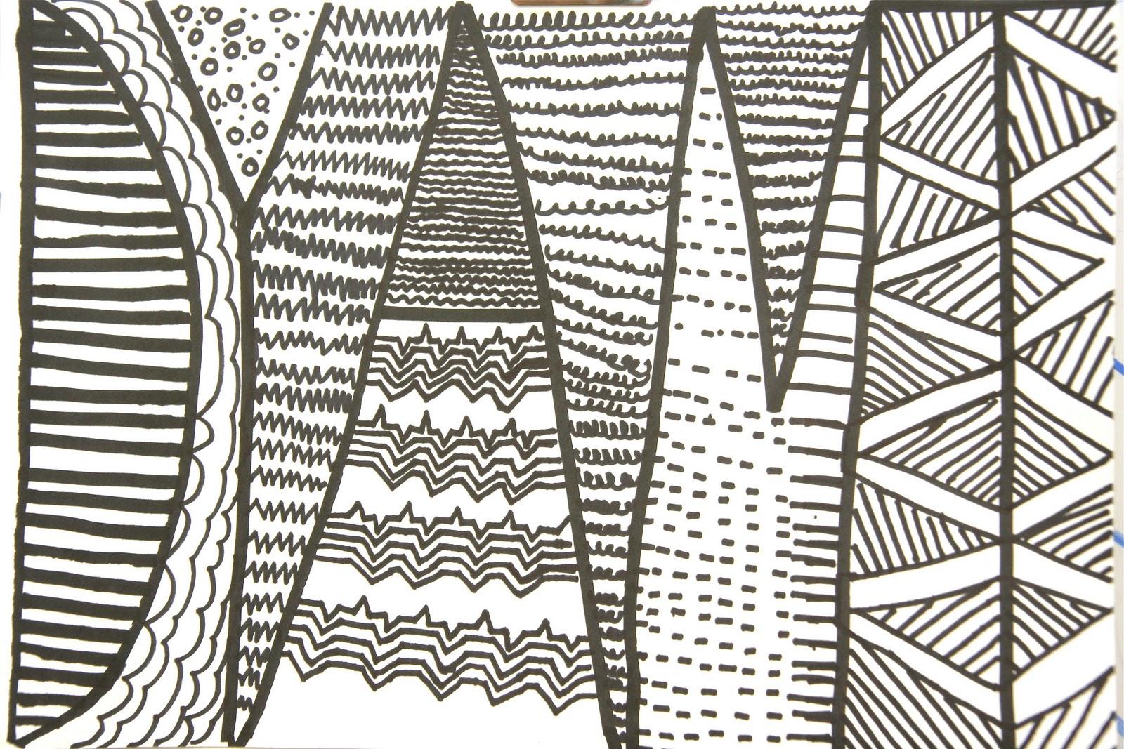 Splish Splash Splatter Abstract Name Drawings W Pattern