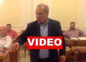 Αποχώρησε διαμαρτυρόμενος ο Χατζησυμεωνίδης – Αγγελής ΄΄ο π. Δήμαρχος έχει ευθύνες για τις απουσίες του γενικά
