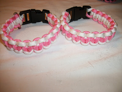 Two Color Paracord Bracelets