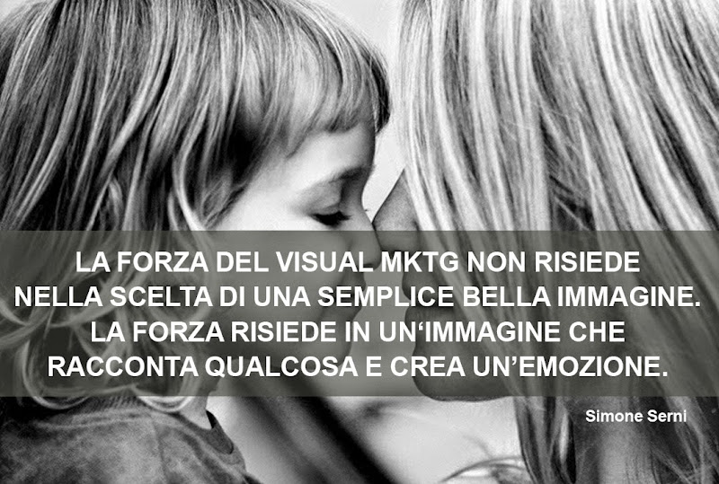 visual marketing, racconta una storia e crea emozione