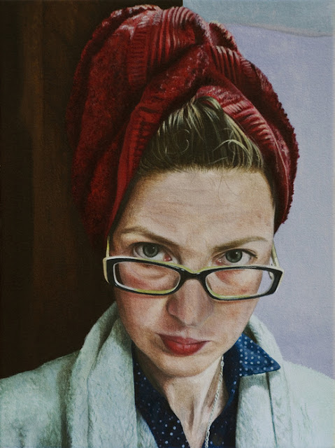 Beautiful Portrait Paintings by Thea Penna(London)