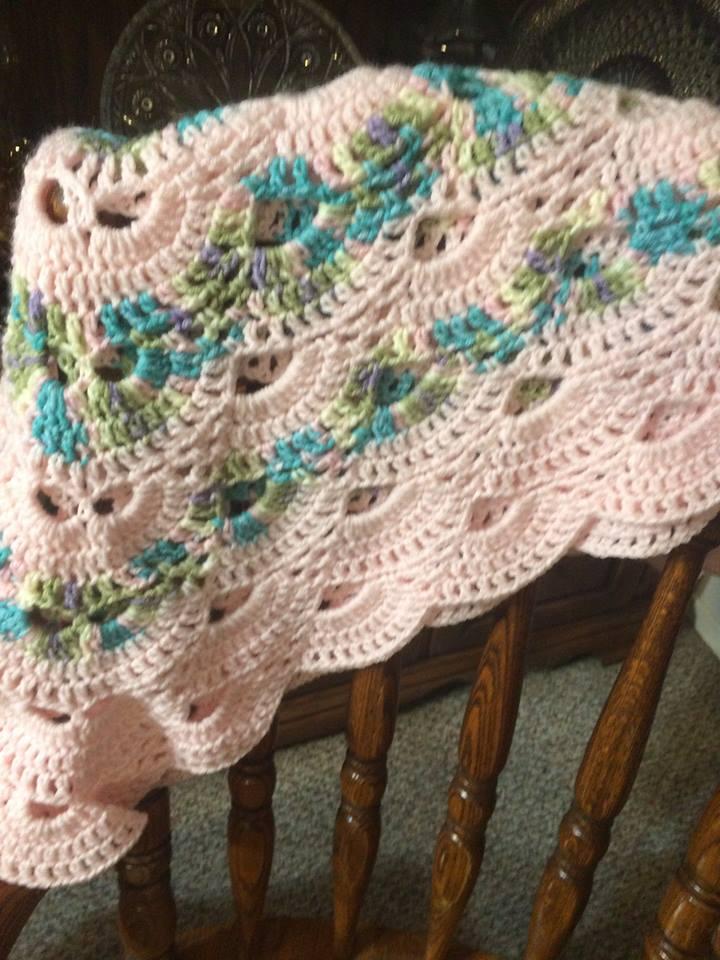 Crochet Virus Blanket : Doing my best for Him: Virus pattern