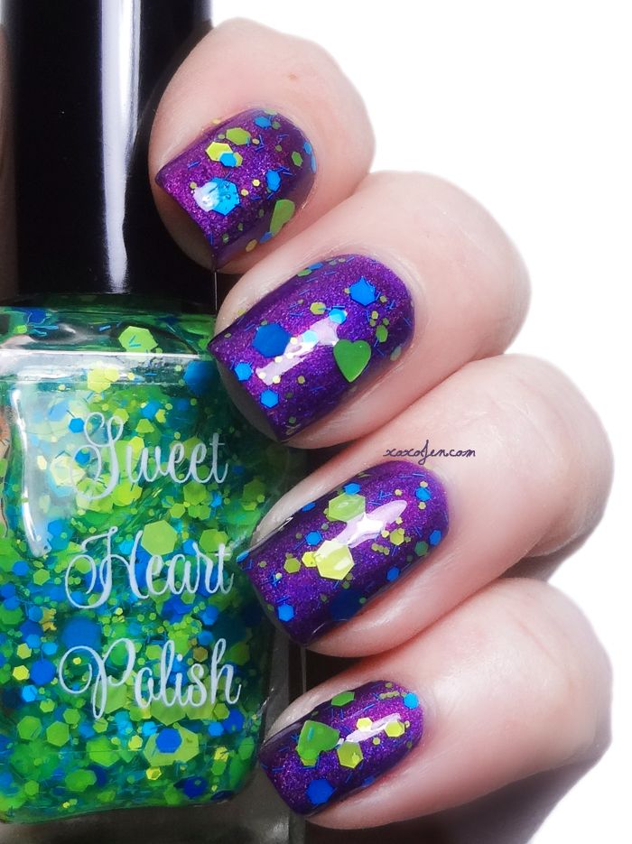 xoxoJen's swatch of Sweet Heart Polish Hang Ten
