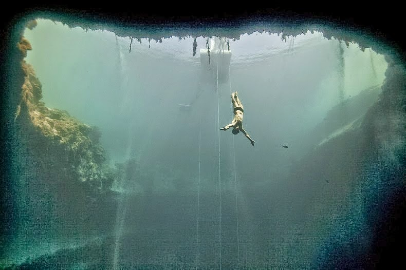 travel 2 the caribbean blog worlds deepest blue hole in